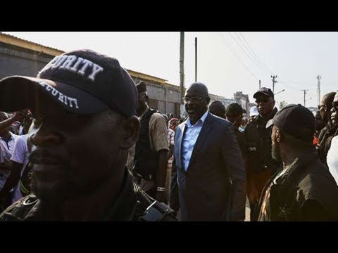 Liberia: le second tour de la présidentielle fixé au 26décembre