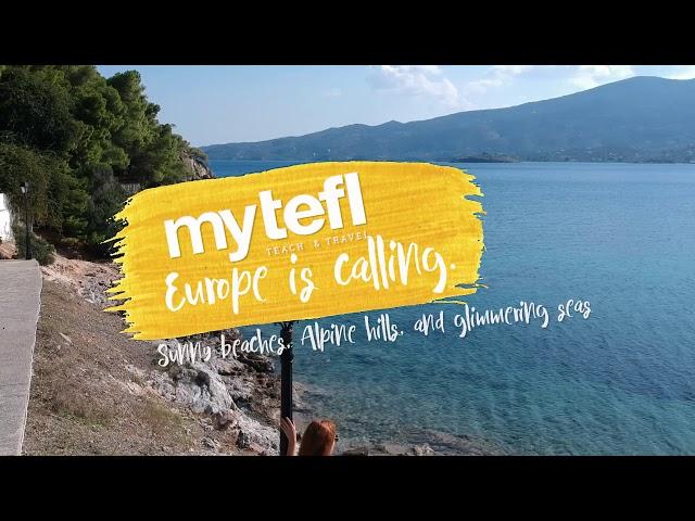 Explore Europe with myTEFL