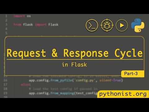 Request And Response Cycle In Flask   Build Modern APIs - Part 3