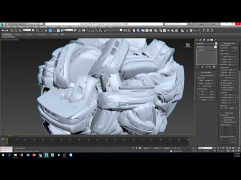 3ds max 2016 simple particles systems and space warps