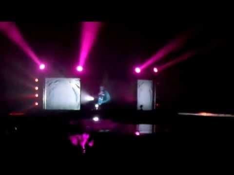 Lady Gaga ArtPop Ball Hatsune Miku live at the Xcel Energy Center in St. Paul MN