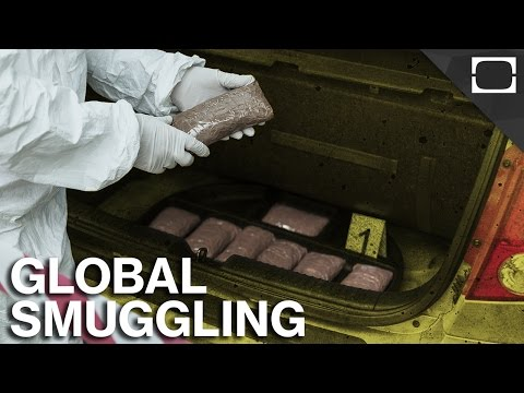 What Are The Most Smuggled Items In The World?