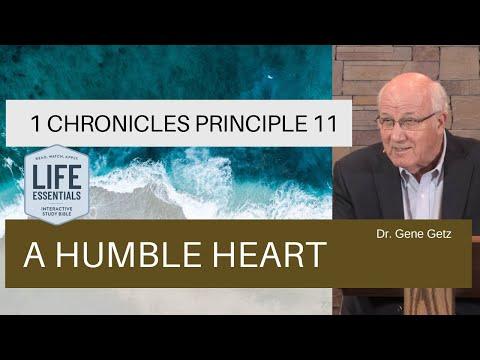1 Chronicles #11: A Humble Heart