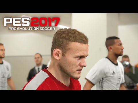 PES 17 Gameplay  -Pro Evolution 2017 -England Vs Germany(PS4)