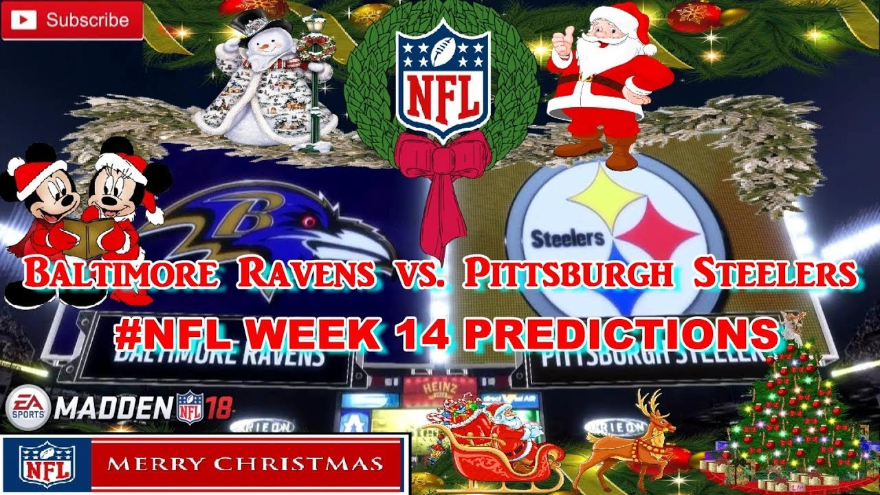 pittsburgh steelers nfl week 14 predictions madden 18 - Nfl Christmas Games