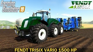 Farming Simulator 19 - FENDT TRISIX VARIO 1500 HP One of the Most Powerful Tractors