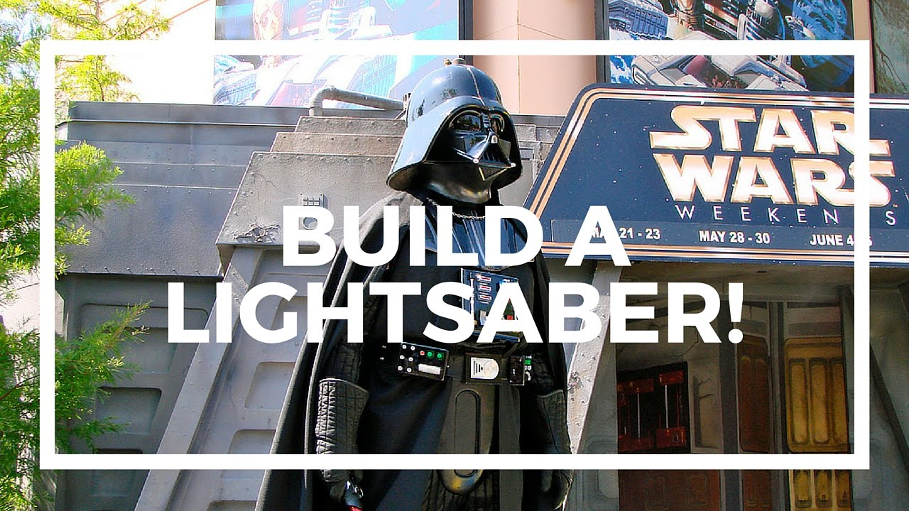 in universe how to build a lightsaber