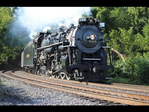 Steam in the Lehigh Gorge Nickel Plate Road 765 Edition 8/22-23/15