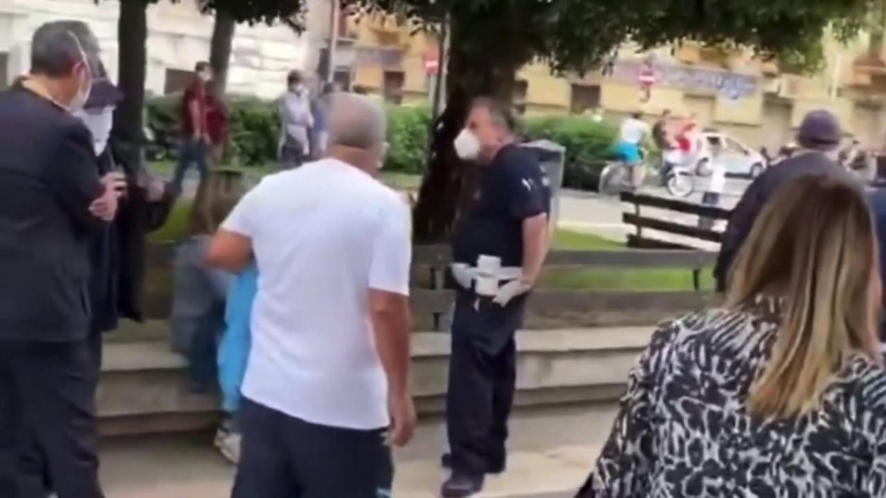 Salerno: Abuso di potere della Polizia Municipale