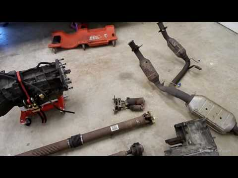 Mountaineer / Explorer Transmission Removal Notes - Vortex Garage Ep. 23