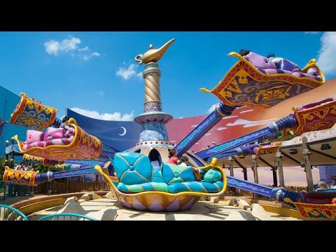 Disneyland 2017 Rides