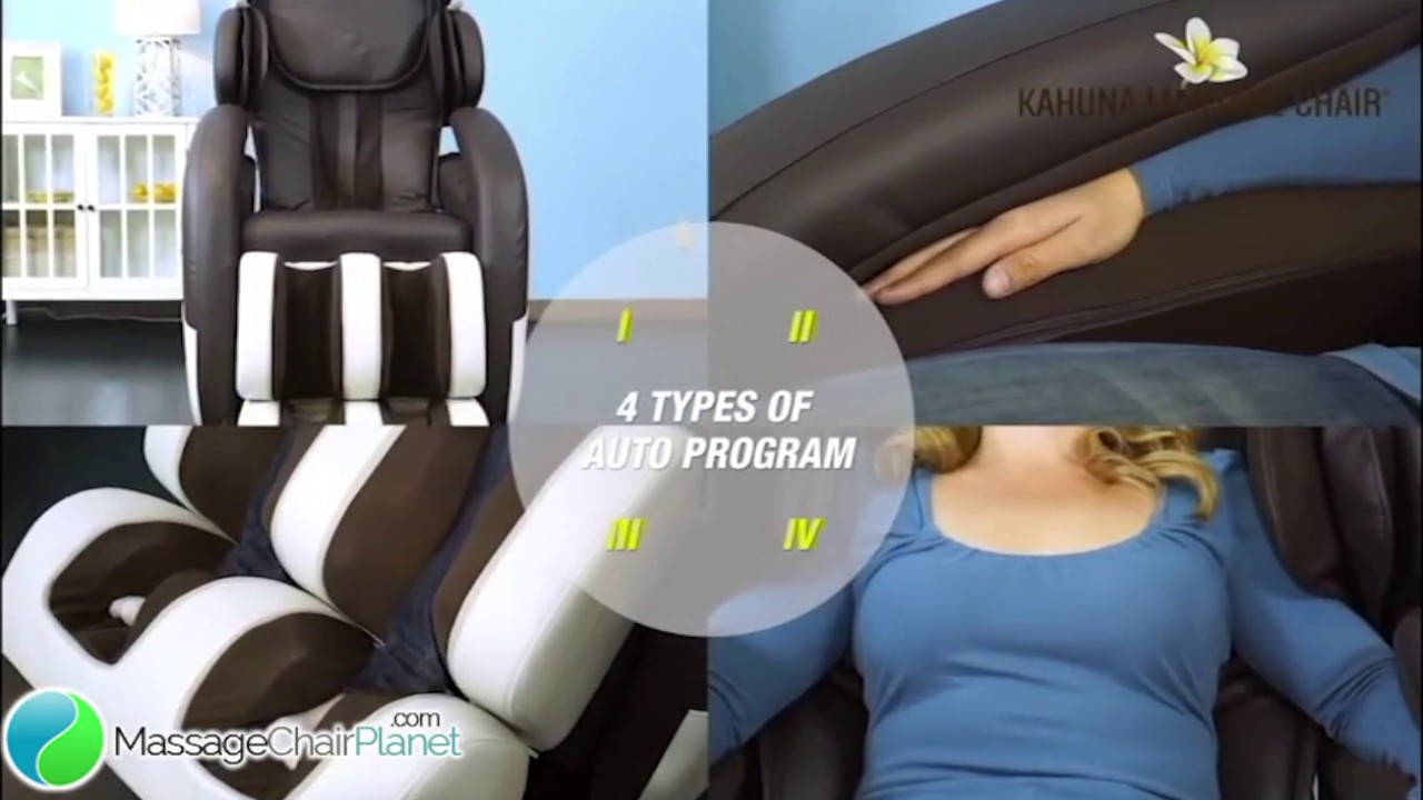Kahuna Massage Chairs L Track Yoga Stretching Massage Chair