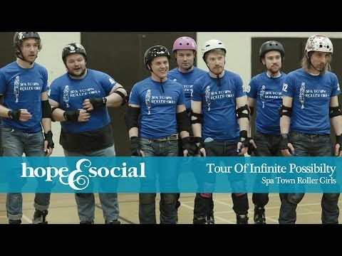 HOPE & SOCIAL | TOUR OF INFINITE POSSIBILITY - EPISODE 4 - SPA TOWN ROLLER GIRLS