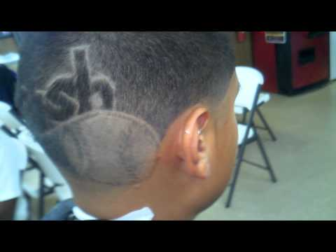 crush ll baseball hair design 713giant