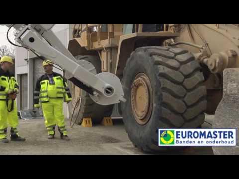 3D industrie  en grondverzetbandenkraan - Euromaster
