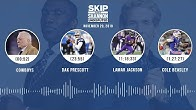 Cowboys, Dak Prescott, Lamar Jackson, Cole Beasley | UNDISPUTED Audio Podcast