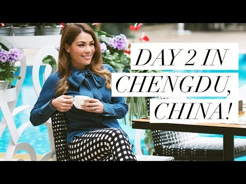 Day 2 in Chengdu, China: Site Review & Traditional Sichuan Food!!!