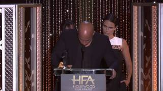 Vin Diesel Pays Tribute to Paul Walker at the Hollywood Film Awards 2016