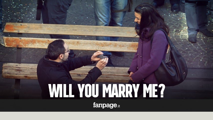 Will You Marry Me An Incredible Italian Marriage Proposal Youtube