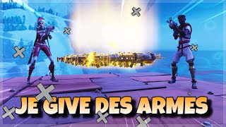 I DON'T BIG ARMES TO INCONNUES ON FORTNitE SAUVER THE WORLD !!!