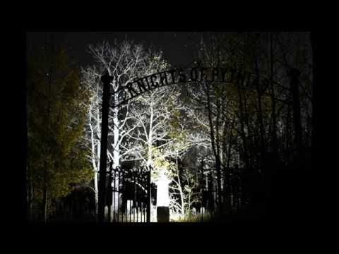 Night Photography at Knights of Pythias Cemetery