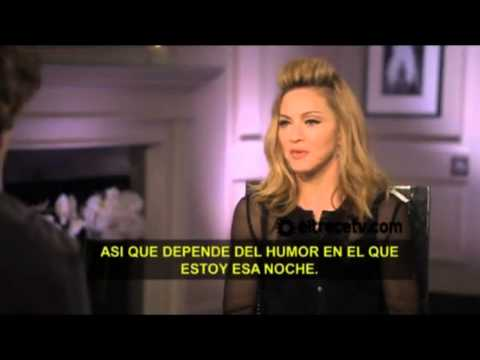 Madonna interview for Argentina's television (Telenoche, July 31, 2012)