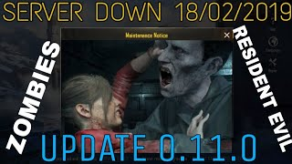 PUBG SERVER DOWN : Zombies Update, Resident Evil 2 Theme