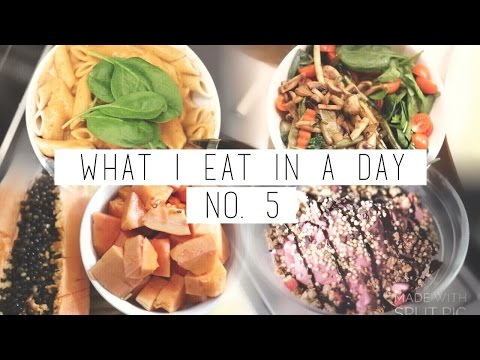 What I Eat In A Day #5 ☮ VEGAN | chanelegance