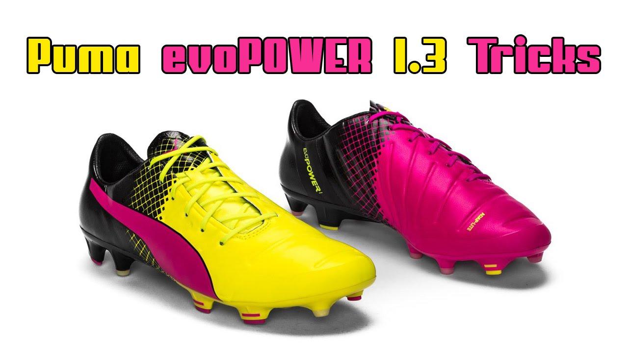 442c8a9a0a68 Puma evoPOWER Tricks EURO 2016 Boots - YouTube