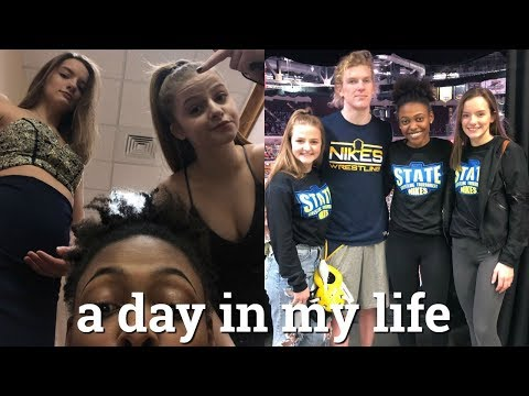 a day in my life: prom dress shopping, state wrestling, etc.