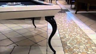 biliardi CAVICCHI:OPERA BILLIARD il biliardo di lusso e Design Moderno Trasformabile in Tavolo