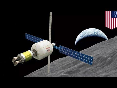 Space station: Aerospace companies sending inflatable habitat around moon by 2022 - TomoNews