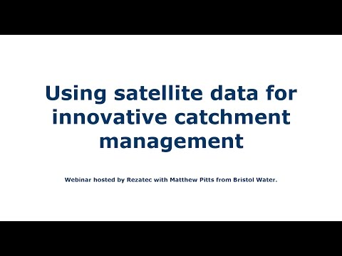 Using Satellite Data for Innovative Catchment Management