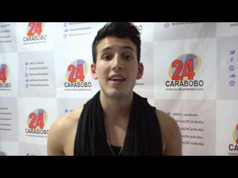 Sebastian Yatra visitó Noticias24 Carabobo
