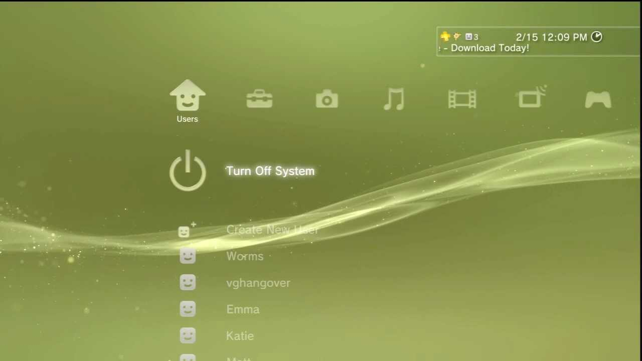 Get Off The Playstation 3 : Automatically turn off ps after downloads complete youtube