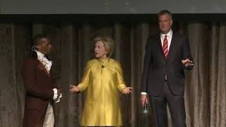 Clinton gets slammed for racially charged joke