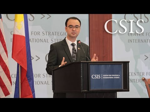 The CSIS-Pertamina Banyan Tree Leadership Forum with Alan Peter Cayetano