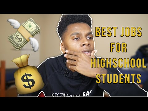 Best Jobs For Highschool Students (100% FACTS)