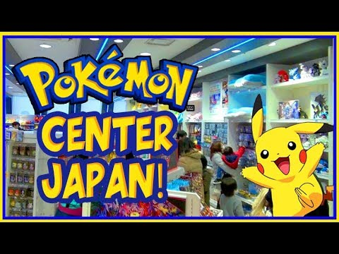 Pokemon Heaven! HUGE Pokemon Center in Japan Vlog
