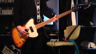 James - Out To Get You Bass Cover