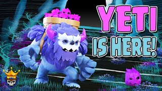 New Troop for Clash of Clans!  The YETI is here!!  TH13 Clash of Clans update 2019
