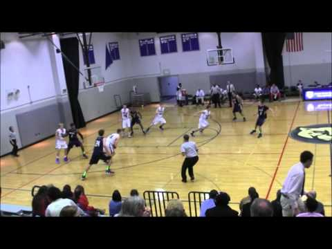 John Brewer Caldwell Academy 2013-14 Jr. Year Basketball Highlights