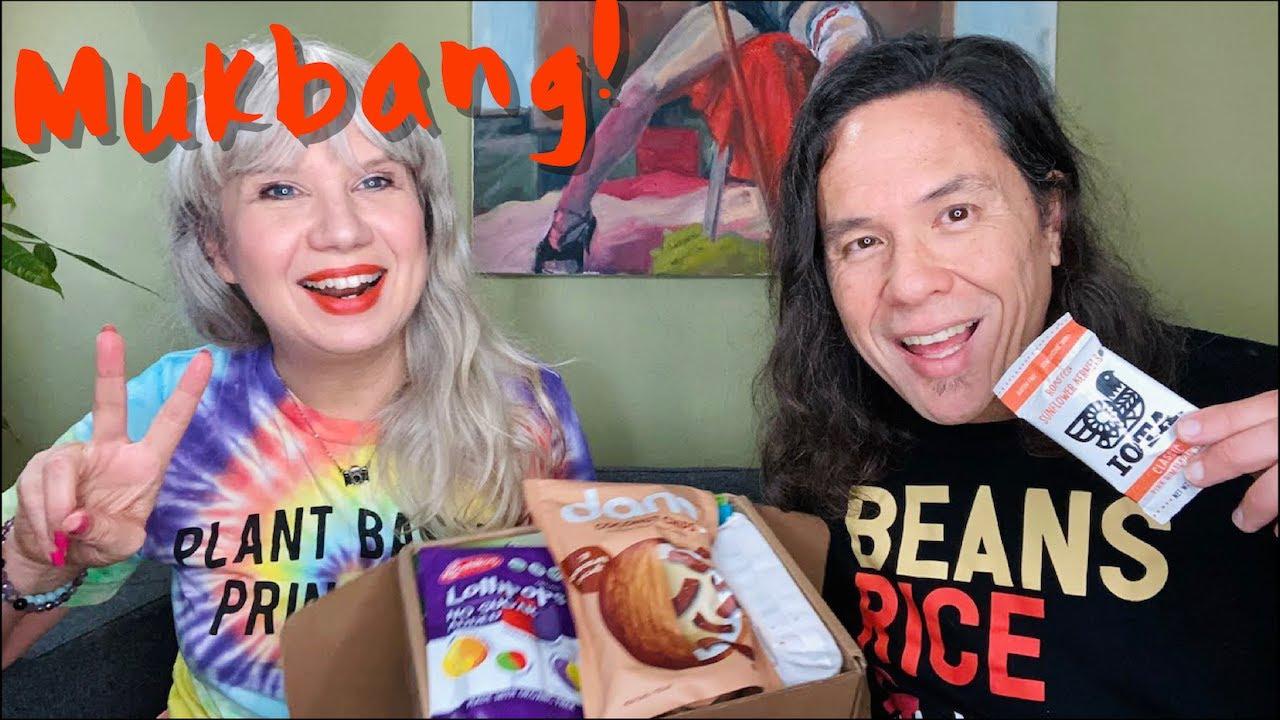 Vegan Snack Mukbang: A Chaotic Livestream