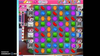 Candy Crush Level 265 w/audio tips, hints, tricks