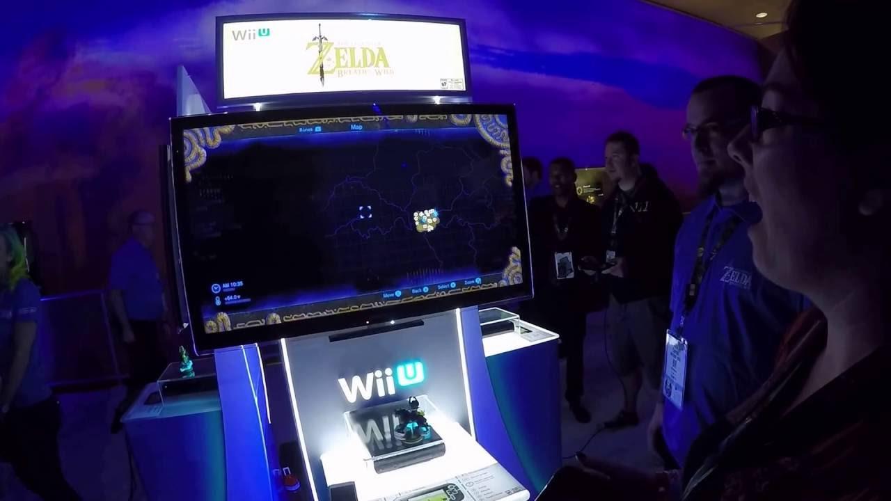 The Legend Of Zelda Breath Of The Wild Mélanie Nous Présente La Carte Du Monde