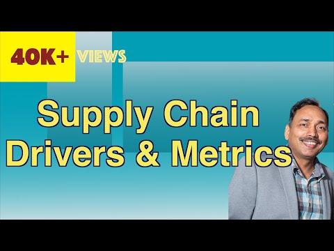 Supply Chain Drivers And Metrics