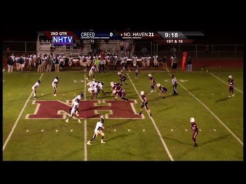 North Haven HS - vs- Creed Regional: NHTV Friday Night Football: 9/28/2017