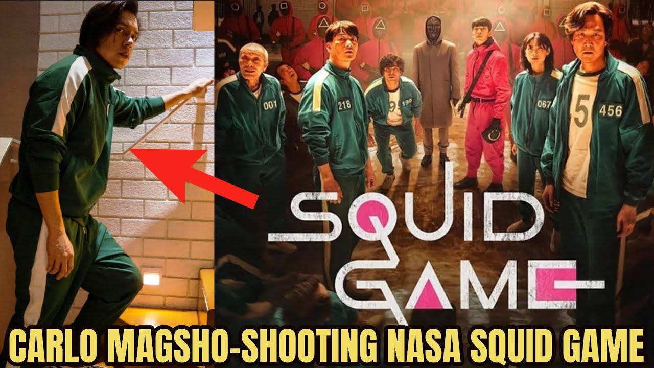 LOOK: CARLO AQUINO KASAMA NA SA SEASON 2 NG SQUID GAME