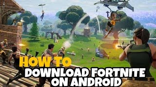 How to download Fortnite FOR Android/iOS ||how to get Fortnite for android/ios
