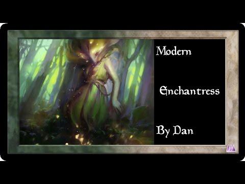 Modern Enchantress vs Eldrazi Conscription